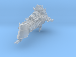 Mercury class battlecruiser in Smooth Fine Detail Plastic