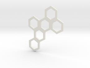 Hive Mind (Piece 20) in White Natural Versatile Plastic