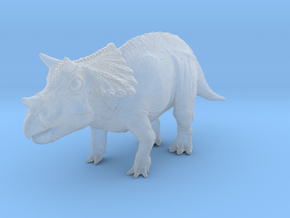 Triceratops Baby(Small/Medium-color size) in Smooth Fine Detail Plastic: Small