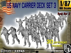 1/87 US Navy Carrier Deck Set 3 in Frosted Ultra Detail