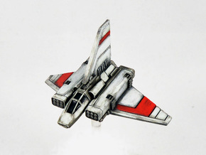 """XG-1 Assault Gunboat Variant """"Scrappy Doom"""" in Frosted Extreme Detail"""