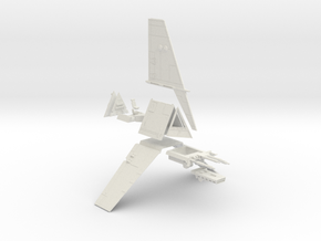 Star Wars 1:72 Incom T-16 Skyhopper in White Strong & Flexible