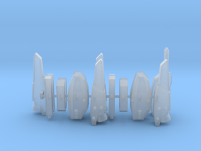 Strike/Super Parts 1/285 scale in Smooth Fine Detail Plastic