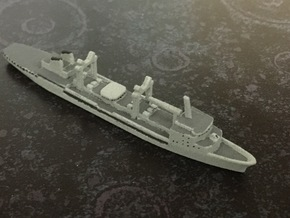 Durance-class tanker, 1/1800 in White Natural Versatile Plastic