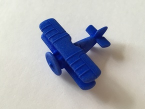Wolf Fighter Plane in Blue Processed Versatile Plastic