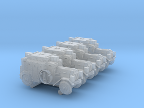 Kfz 3 (6mm 4-up) in Smooth Fine Detail Plastic