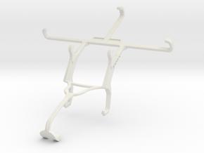Controller mount for Xbox 360 & Panasonic P66 in White Natural Versatile Plastic