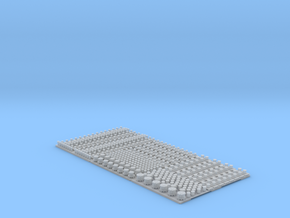 1/700 IJN Bollards in Smoothest Fine Detail Plastic