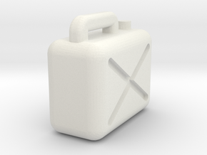 Jerrycan 1/45 in White Strong & Flexible
