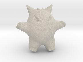 Gengar in Natural Sandstone