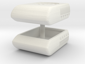 1/25 Air Conditioner (2) for Semi Trucks or RVs in White Natural Versatile Plastic