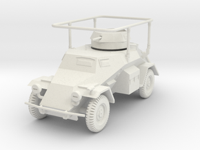 PV134A Sdkfz 223 Radio Car (28mm) in White Natural Versatile Plastic