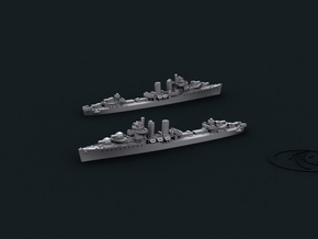 1/3000 US DD Farragut [1944] (x4) in Smooth Fine Detail Plastic