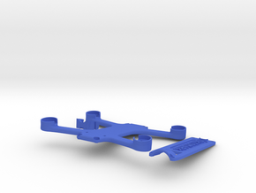 Skidmark Nano V1 in Blue Strong & Flexible Polished