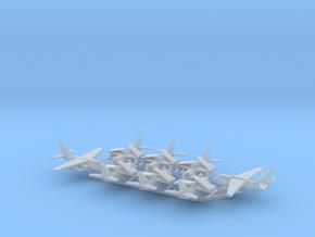 1/700 S-3A & ES-3A w/Gear x8 (FUD) in Smooth Fine Detail Plastic