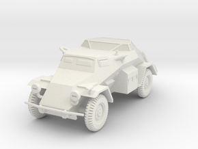 PV135 Sdkfz 260 Radio Car (Air) (1/48) in White Natural Versatile Plastic