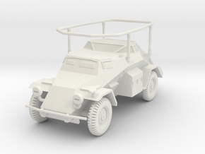 PV136 Sdkfz 261 Long Range Radio Car (1/48) in White Natural Versatile Plastic