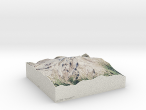Glacier Peak, Washington, USA, 1:50000 in Full Color Sandstone