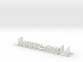 Aménagement 2e Classe Eurostar Intermédiaire HO in White Strong & Flexible