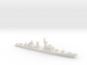 Takatsuki-class destroyer (1985), 1/1800 in White Natural Versatile Plastic