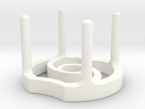 Softie Smasher 2.0 in White Processed Versatile Plastic