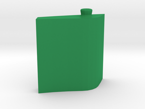 Leaf Bottle 50 ml in Green Processed Versatile Plastic: Medium