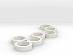 FLEURISSANT - Frame #1 in White Natural Versatile Plastic