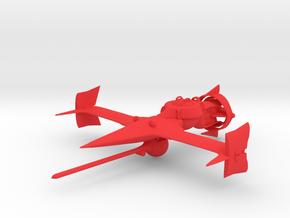 """Cowboy Bebop"" Swordfish II Ship  in Red Strong & Flexible Polished"