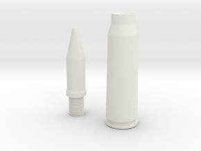 20x102 Vulcan version III (Container) in White Natural Versatile Plastic