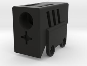 Compensator for SRU PDW Airsoft kit in Black Natural Versatile Plastic