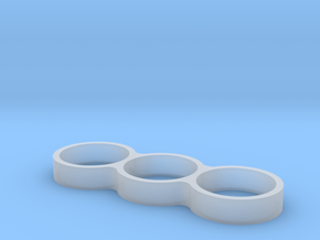 Triple Ring Bearing Spinner in Smooth Fine Detail Plastic