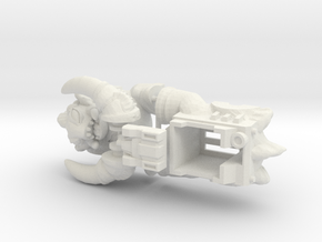 Slog Faceplate & Shell Kit (Titans Return) in White Strong & Flexible