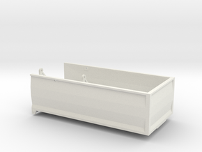 MA18 Grain bed in White Natural Versatile Plastic: 1:64