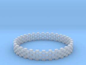 Continum Ring (Size-14) in Smooth Fine Detail Plastic