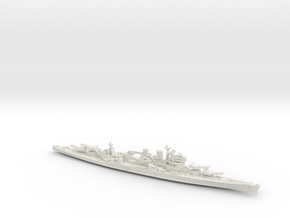 UK BC Hood [KGV Style 1942 Refit] in White Natural Versatile Plastic: 1:1800