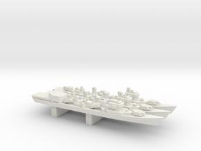 051 Destroyer Luda II/III pack, 3pc, 1/3000 in White Natural Versatile Plastic