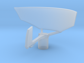 1/72 Scale SPS-12 Radar in Smooth Fine Detail Plastic