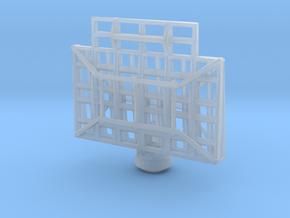 1/96 Scale SC2 Radar  in Smooth Fine Detail Plastic