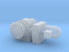 1:144 Scale Boat Winch  in Smooth Fine Detail Plastic