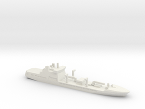 Tide-class tanker, 1/3000 in White Natural Versatile Plastic