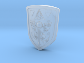Link to the Past Shield for Figma in Smooth Fine Detail Plastic