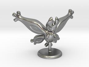 Shiny Mothim in Natural Silver