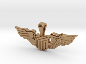 The Wingwoman in Polished Brass