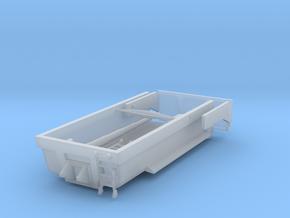 1/87 HO Tiefbaumulde 22t, 5,0m mit Hubzylinder in Smooth Fine Detail Plastic