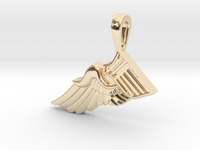 The Broken Wing in 14K Yellow Gold