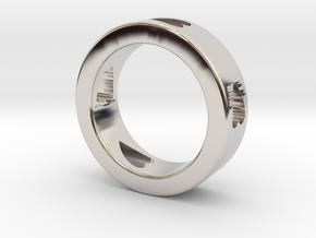 LOVE RING Size-12 in Platinum