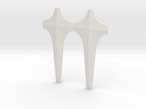 Googie Facade Canopy Face in White Strong & Flexible