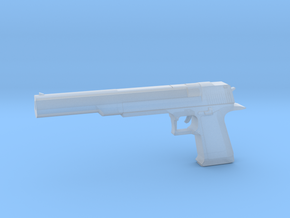 Desert Eagle Long Barrel 1/12 scale in Smooth Fine Detail Plastic