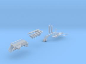 Jib für Ladekran Fahrtstellung in Smooth Fine Detail Plastic