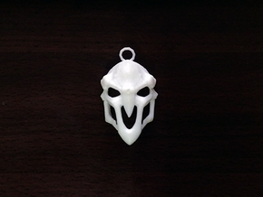 OverWatch's Reaper Pendant in White Strong & Flexible
